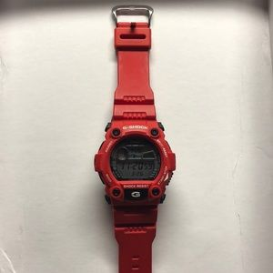 Other - Red G-Shock Watch